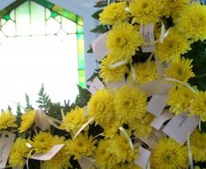 Easter Flower Cross